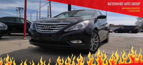 2012 Hyundai Sonata for sale at Nationwide Auto Group in Melrose Park IL