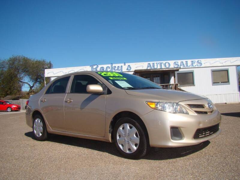 2012 Toyota Corolla for sale at Rocky's Auto Sales in Corpus Christi TX