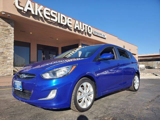 2012 Hyundai Accent for sale at Lakeside Auto Brokers Inc. in Colorado Springs CO