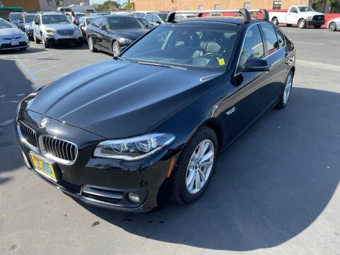 2016 BMW 5 Series for sale at CARSTER in Huntington Beach CA