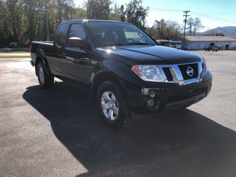 2012 Nissan Frontier for sale at KNK AUTOMOTIVE in Erwin TN