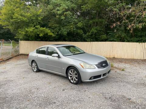 2006 Infiniti M35 for sale at Tennessee Valley Wholesale Autos LLC in Huntsville AL