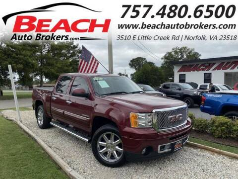 2013 GMC Sierra 1500 for sale at Beach Auto Brokers in Norfolk VA
