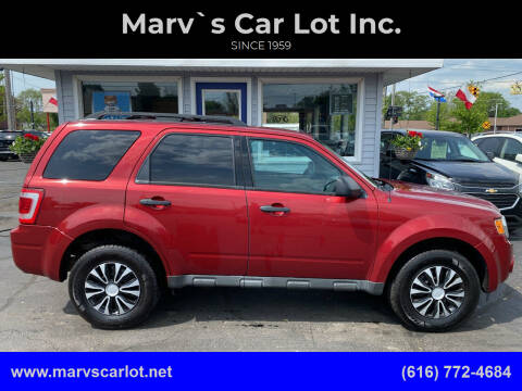 2012 Ford Escape for sale at Marv`s Car Lot Inc. in Zeeland MI