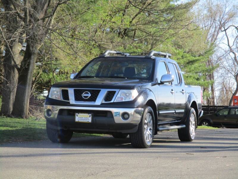 2012 Nissan Frontier for sale at Loudoun Used Cars in Leesburg VA