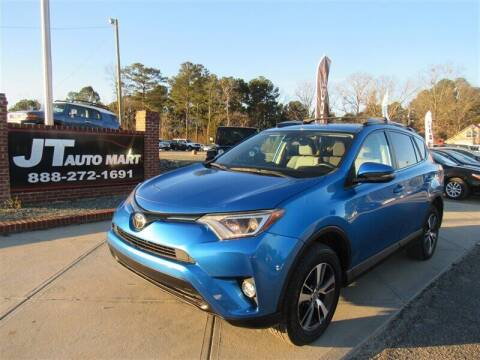 2017 Toyota RAV4 for sale at J T Auto Group in Sanford NC