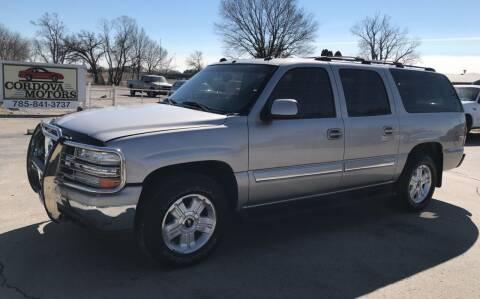 2005 Chevrolet Suburban for sale at Cordova Motors in Lawrence KS