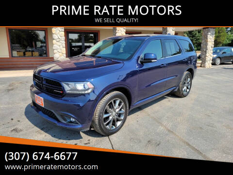 2017 Dodge Durango for sale at PRIME RATE MOTORS in Sheridan WY