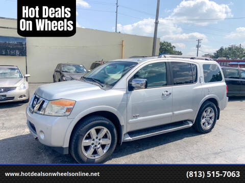 2009 Nissan Armada for sale at Hot Deals On Wheels in Tampa FL