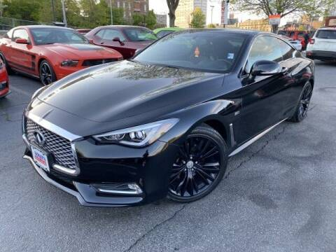 2017 Infiniti Q60 for sale at Sonias Auto Sales in Worcester MA