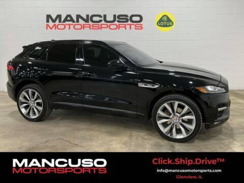 2017 Jaguar F-PACE for sale at Mancuso Motorsports in Glenview IL