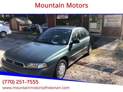 1995 Subaru Legacy for sale at Mountain Motors in Newnan GA