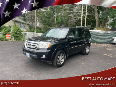 2010 Honda Pilot for sale at Best Auto Mart in Weymouth MA