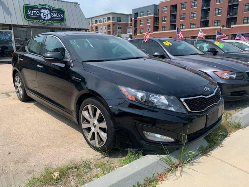 2012 Kia Optima for sale at LOT 51 AUTO SALES in Madison WI