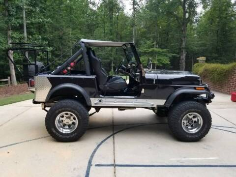 1982 Jeep CJ-7 for sale at Classic Car Deals in Cadillac MI