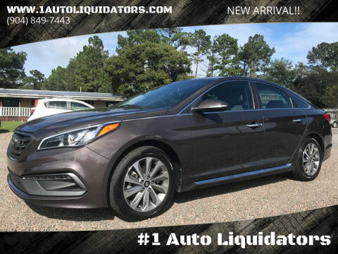 2016 Hyundai Sonata for sale at #1 Auto Liquidators in Yulee FL
