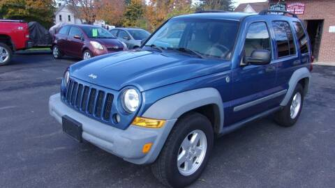 2006 Jeep Liberty for sale at Eagle's Wings Auto Sales in Hilton NY