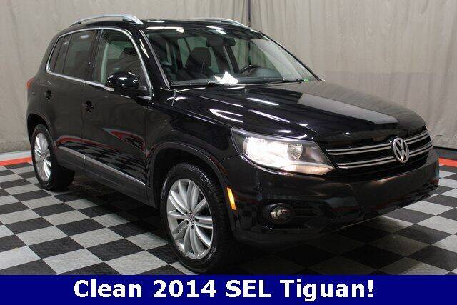 2014 Volkswagen Tiguan for sale at Vorderman Imports in Fort Wayne IN