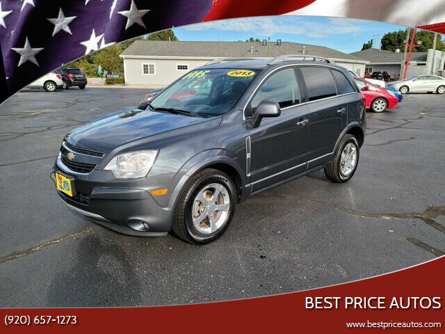 2013 Chevrolet Captiva Sport for sale at Best Price Autos in Two Rivers WI