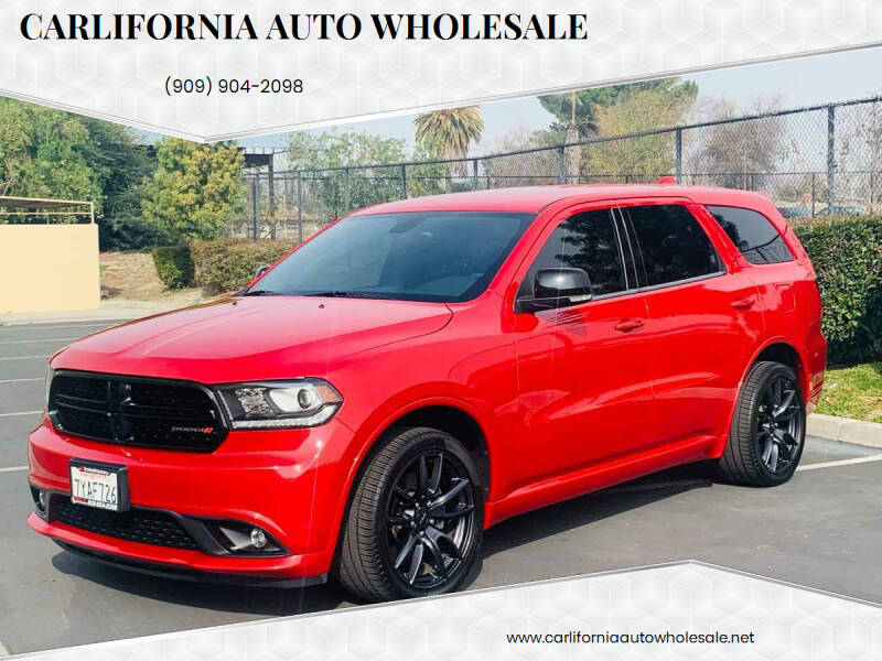 2017 Dodge Durango for sale at CARLIFORNIA AUTO WHOLESALE in San Bernardino CA