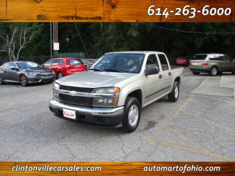 2006 Chevrolet Colorado for sale at Clintonville Car Sales - AutoMart of Ohio in Columbus OH