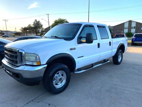 2002 Ford F-250 Super Duty for sale at Car Gallery in Oklahoma City OK