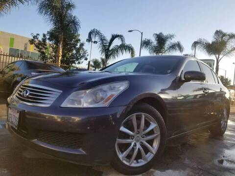2008 Infiniti G35 for sale at GENERATION 1 MOTORSPORTS #1 in Los Angeles CA