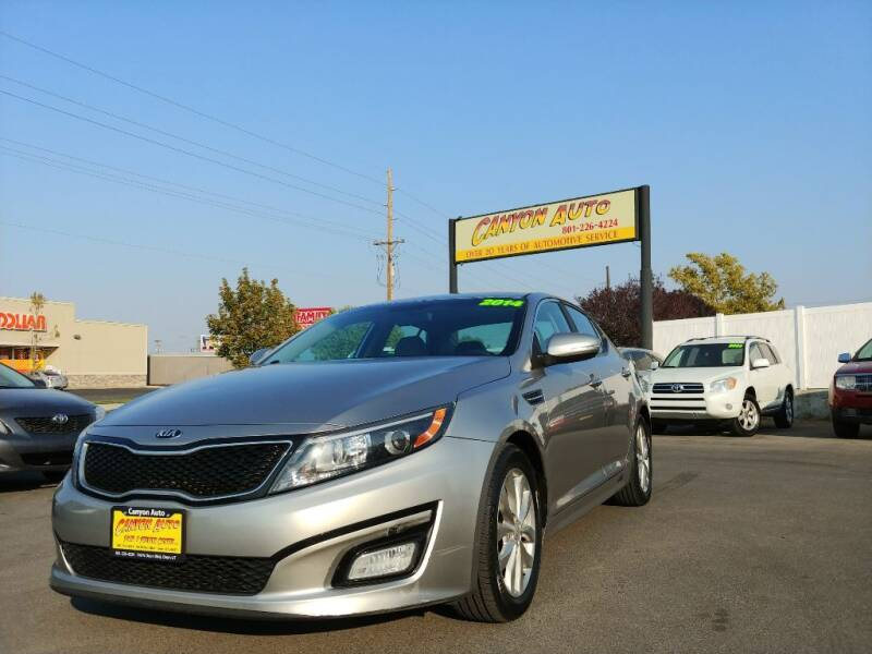2014 Kia Optima for sale at Canyon Auto Sales in Orem UT