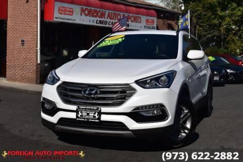 2017 Hyundai Santa Fe Sport for sale at www.onlycarsnj.net in Irvington NJ
