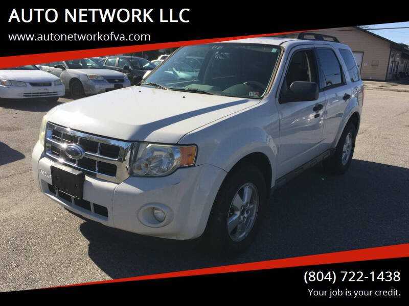 2009 Ford Escape for sale at AUTO NETWORK LLC in Petersburg VA