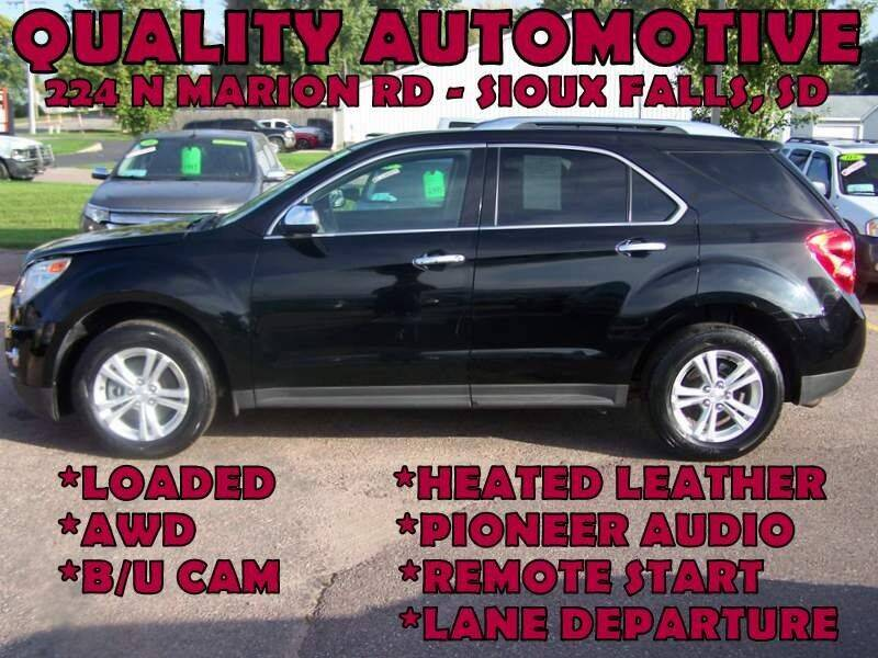 2013 Chevrolet Equinox for sale at Quality Automotive in Sioux Falls SD