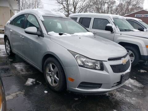 2011 Chevrolet Cruze for sale at COLONIAL AUTO SALES in North Lima OH