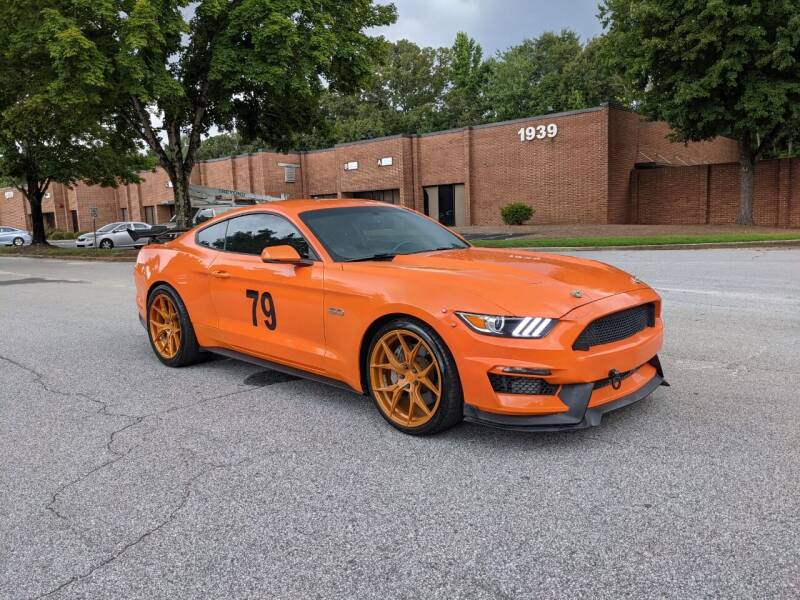 2016 Ford Mustang for sale at United Luxury Motors in Stone Mountain GA