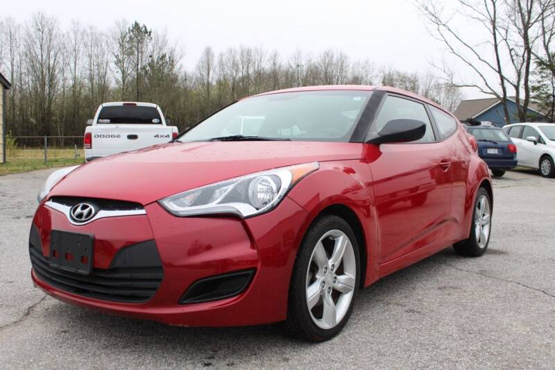 2013 Hyundai Veloster for sale at UpCountry Motors in Taylors SC