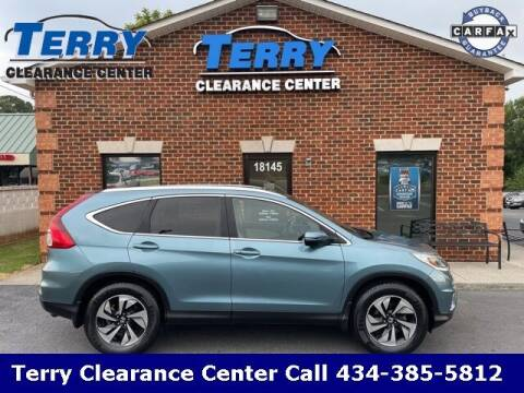 2015 Honda CR-V for sale at Terry Clearance Center in Lynchburg VA