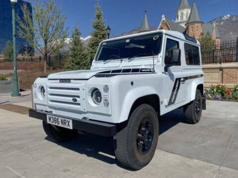 1994 Land Rover Defender for sale at Classic Car Deals in Cadillac MI