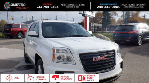 2016 GMC Terrain for sale at Quattro Motors 2 - 1 in Redford MI