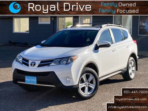 2013 Toyota RAV4 for sale at Royal Drive in Newport MN
