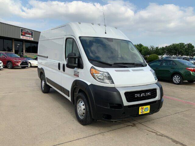 2020 RAM ProMaster Cargo for sale at KIAN MOTORS INC in Plano TX
