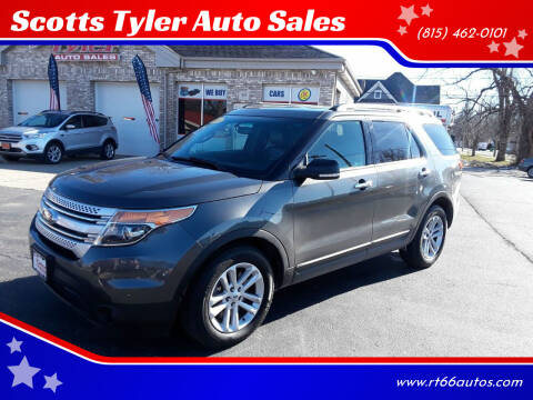 2015 Ford Explorer for sale at Scotts Tyler Auto Sales in Wilmington IL