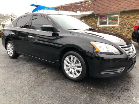 2015 Nissan Sentra for sale at Approved Motors in Dillonvale OH