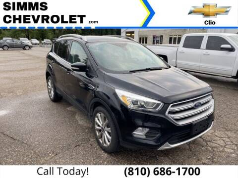 2017 Ford Escape for sale at Aaron Adams @ Simms Chevrolet in Clio MI