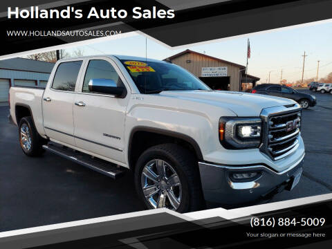 2018 GMC Sierra 1500 for sale at Holland's Auto Sales in Harrisonville MO