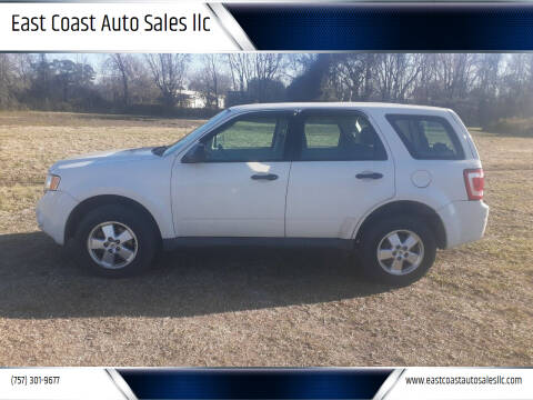 2012 Ford Escape for sale at East Coast Auto Sales llc in Virginia Beach VA