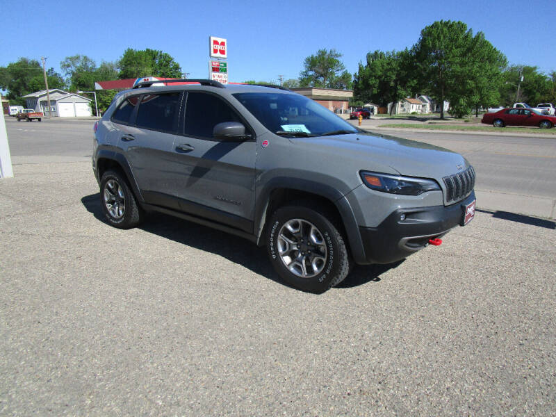 2019 Jeep Cherokee for sale at Padgett Auto Sales in Aberdeen SD
