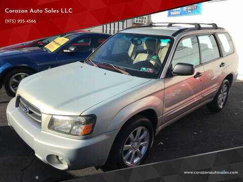 2005 Subaru Forester for sale at Corazon Auto Sales LLC in Paterson NJ