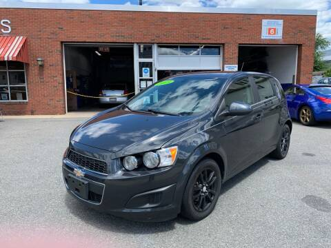 2015 Chevrolet Sonic for sale at Cote & Sons Automotive Ctr in Lawrence MA