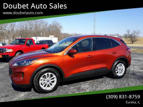 2020 Ford Escape for sale at Doubet Auto Sales in Eureka IL
