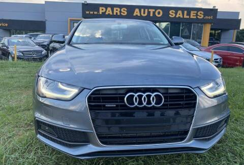 2014 Audi A4 for sale at Pars Auto Sales Inc in Stone Mountain GA