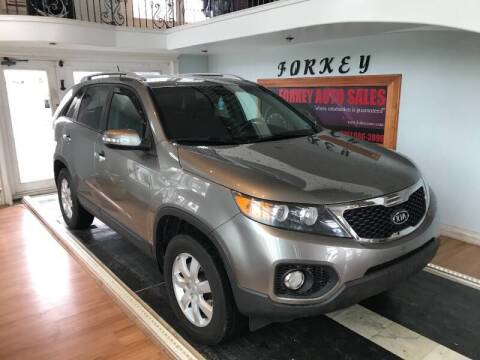 2011 Kia Sorento for sale at Forkey Auto & Trailer Sales in La Fargeville NY